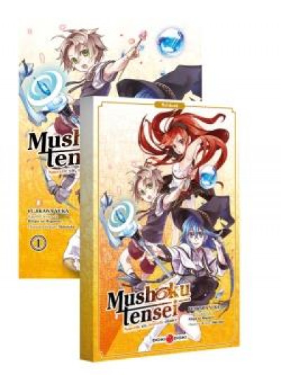 Couverture Mushoku tensei tome 1 + carnet offert