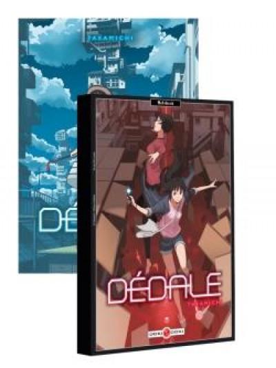 Couverture Dédale tome 1 + carnet offert