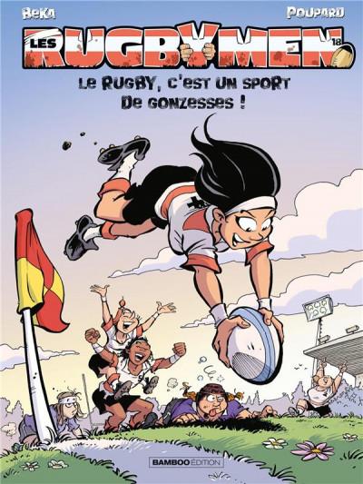 Couverture Les rugbymen tome 18