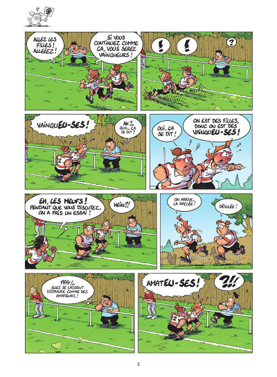 Page 4 Les rugbymen tome 18