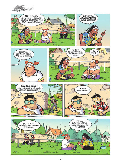 Page 9 Les rugbymen tome 18