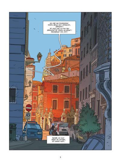 Page 6 Une nuit à Rome tome 4