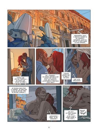 Page 7 Une nuit à Rome tome 4