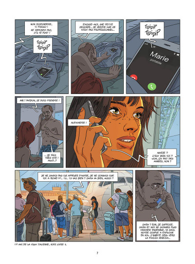 Page 8 Une nuit à Rome tome 4