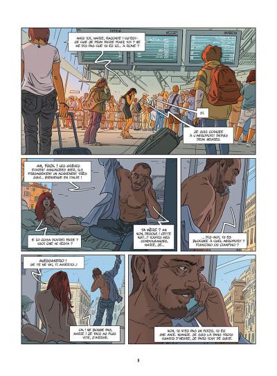 Page 9 Une nuit à Rome tome 4