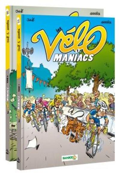 Couverture Les vélomaniacs - pack tomes 1 + 6