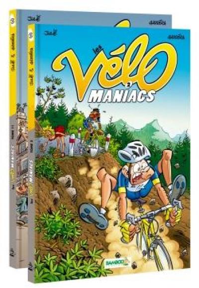 Couverture Les vélomaniacs - pack tomes 2 + 11
