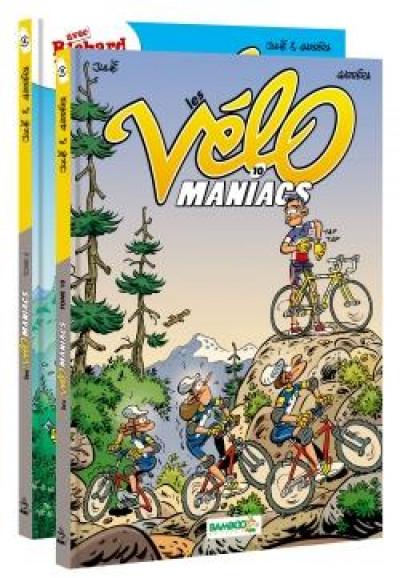 Couverture Les vélomaniacs - pack tomes 4 + 10