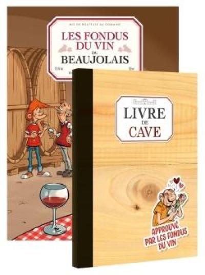 Couverture Les fondus du vin - Beaujolais + livre de cave offert
