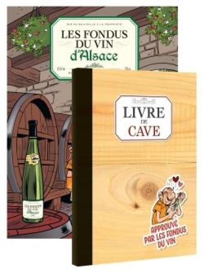 Couverture Les fondus du vin - Alsace + livre de cave offert