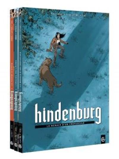Couverture Hindenburg - pack tomes 1 à 3