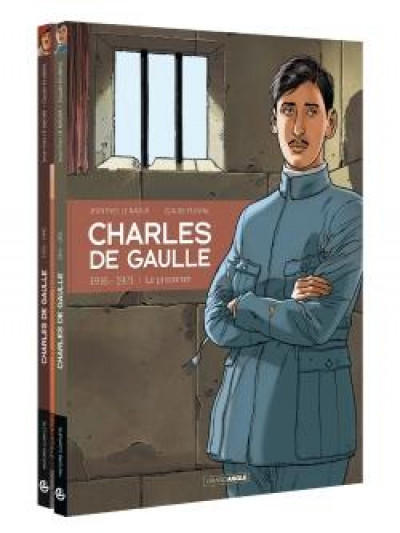Couverture Charles de Gaulle - pack tomes 1 + 2