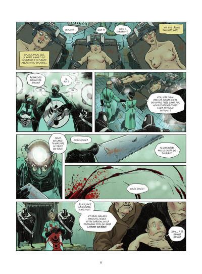 Page 9 L'homme sans sourire