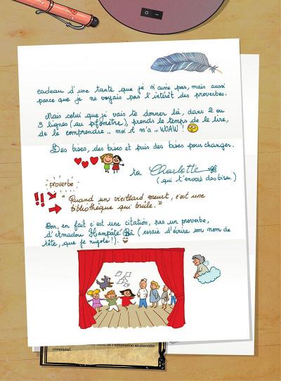Page 0 Les amies de papier tome 4