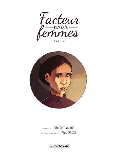 Page 2 Facteur pour femmes tome 2