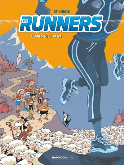Couverture Les runners tome 2