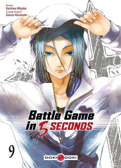 Couverture Battle game in 5 seconds tome 9