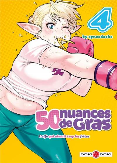 Couverture 50 nuances de gras tome 4