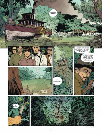 Page 4 L'or du bout du monde tome 2