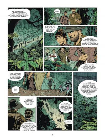 Page 5 L'or du bout du monde tome 2
