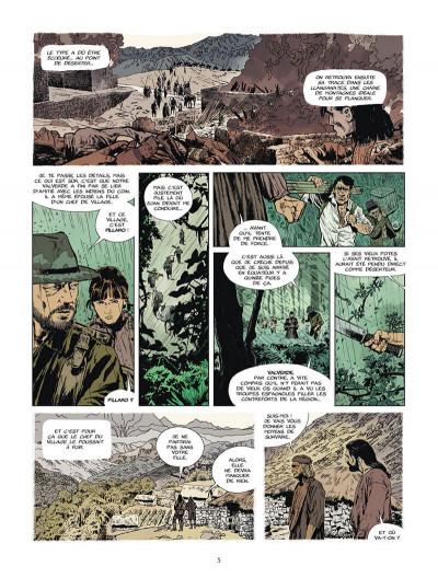 Page 6 L'or du bout du monde tome 2