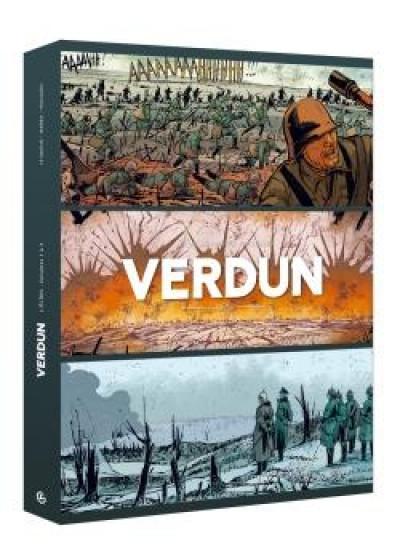 Couverture Verdun - écrin tomes 1 à 3