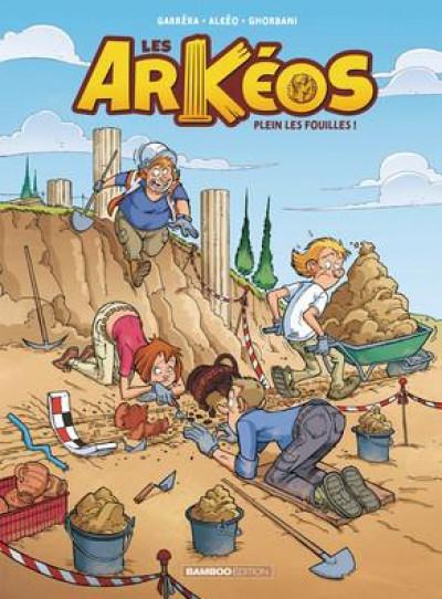 Couverture Les arkéos tome 1