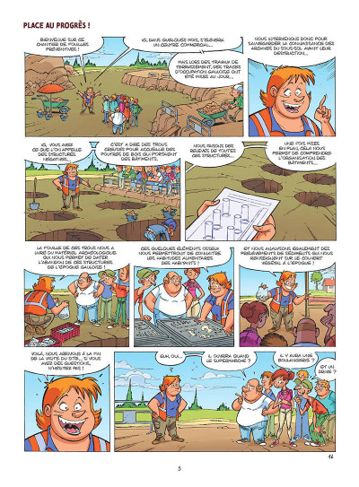 Page 6 Les arkéos tome 1