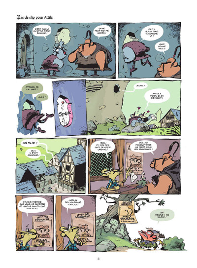 Page 4 Le club des Huns tome 2