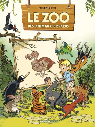 Couverture Le zoo des animaux disparus tome 1