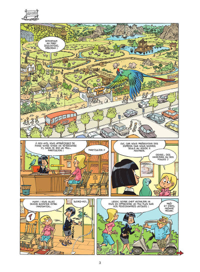 Page 4 Le zoo des animaux disparus tome 1