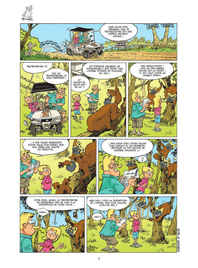 Page 8 Le zoo des animaux disparus tome 1