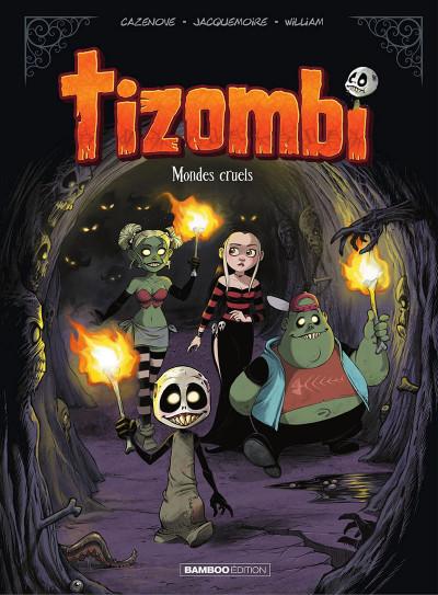 Couverture Tizombi tome 4