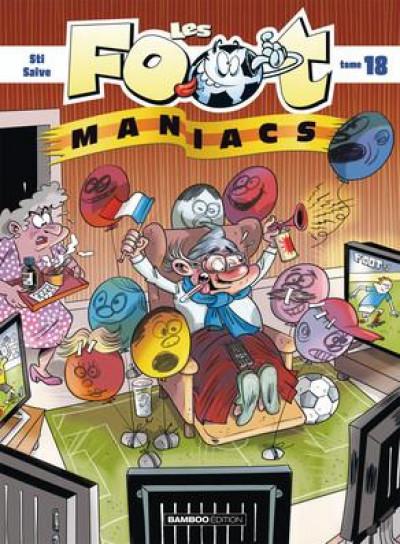 Couverture Les footmaniacs tome 18