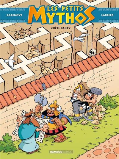 Couverture Les Petits Mythos tome 11
