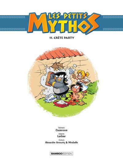 Page 2 Les Petits Mythos tome 11