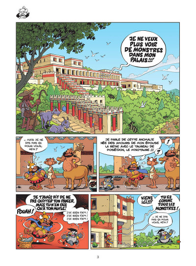 Page 4 Les Petits Mythos tome 11