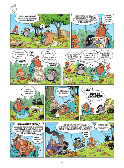 Page 9 Les Petits Mythos tome 11