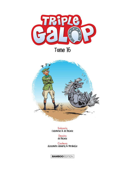 Page 2 Triple galop tome 16