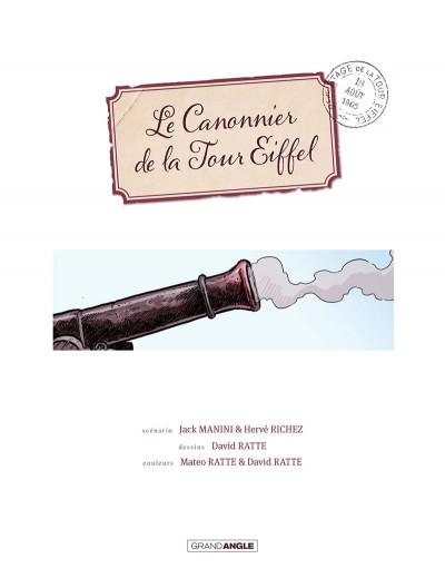 Page 4 Le canonnier de la tour eiffel