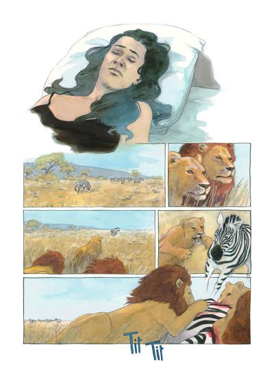 Page 6 Les lions endormis