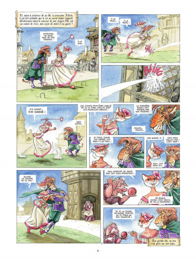 Page 5 Tracnar et Faribol tome 1