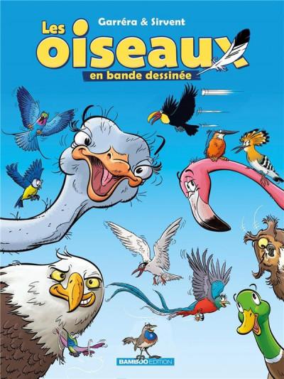 Couverture Les oiseaux en bande dessinée