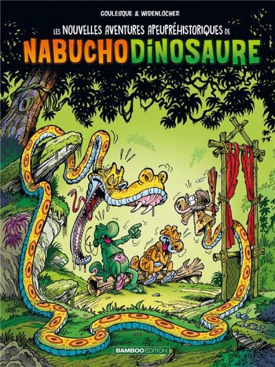Couverture Les nouvelles aventures apeupréhistoriques de Nabuchodinosaure tome 4