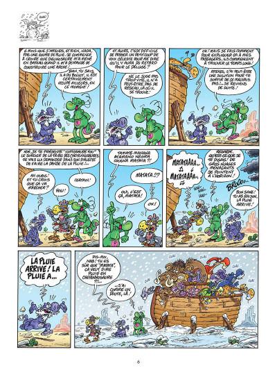 Page 7 Les nouvelles aventures apeupréhistoriques de Nabuchodinosaure tome 4