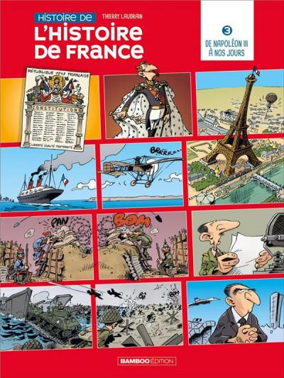 Couverture Histoire de l'Histoire de France tome 3