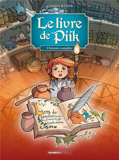 Couverture Le livre de Piik - écrin tomes 1 à 3