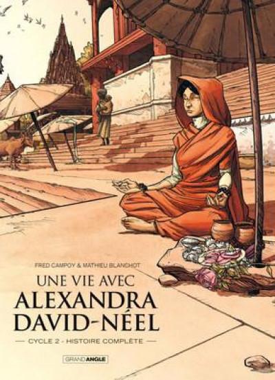 Couverture Une vie avec Alexandra David-Néel - coffret tomes 3 et 4