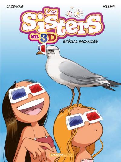 Couverture Les Sisters - 3D - spécial vacances