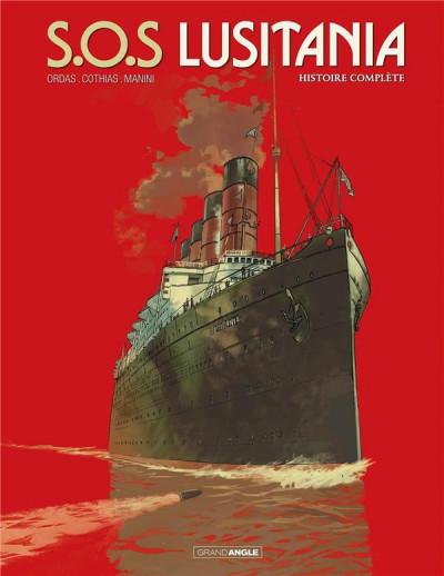 Couverture S.O.S Lusitania - intégrale